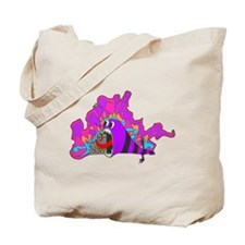 Monster Tagging Tote Bag