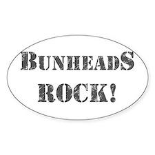 Bunheads Rock Decal