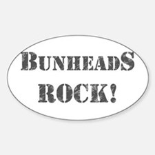 Bunheads Rock Sticker (Oval)