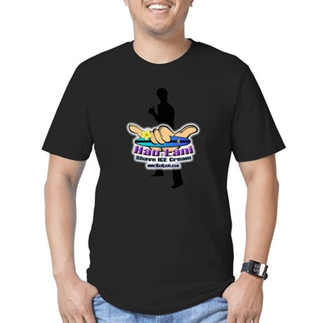 Logo Shaka Men's Fitted T-Shirt (dark)