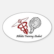 Athletic Training Student Sticker (Oval)