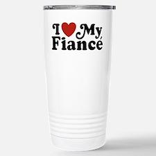 I Love My Fiance Travel Mug