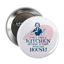 """What Kitchen? 2.25"""" Button"""