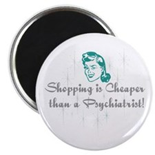 """Shopping Cure 2.25"""" Magnet (100 pack)"""