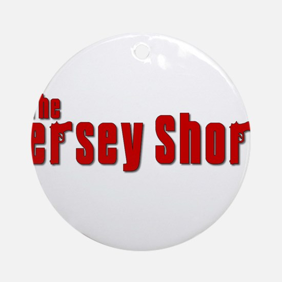 Jersey Shore Sopranos Red Ornament (Round)