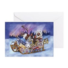 The Inuit Sled Greeting Cards (Pk of 10)