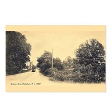 1907 scene of Amboy Ave (Package of 8 Postcards)
