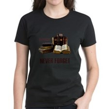 Never Forget Books Tee