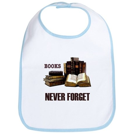 Never Forget Books Bib