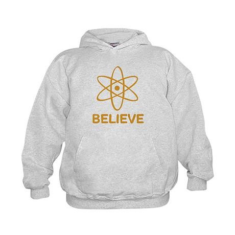 Believe (Science) Kids Hoodie