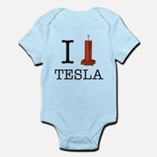 I (Heart/Coil) Tesla Infant Bodysuit