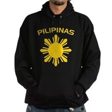 Philippines and Star Hoodie