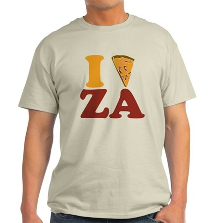 I (Heart/Slice) Za Light T-Shirt