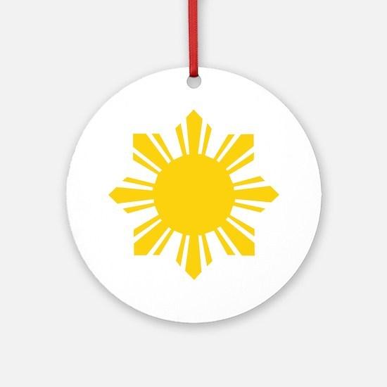 Philippine Star Ornament (Round)