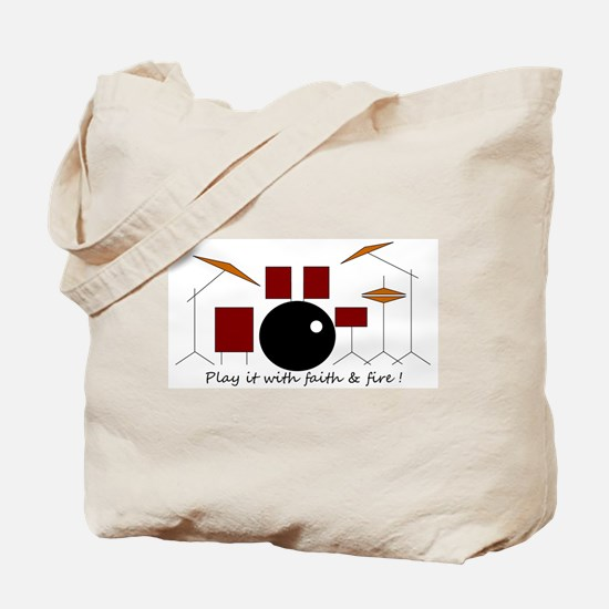Funny Religious music Tote Bag