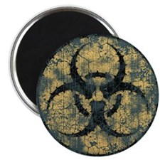 Biohazard -Circle -dist Magnet