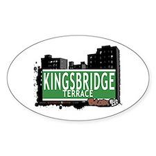 KINGSBRIDGE TER, Bronx, NYC Decal