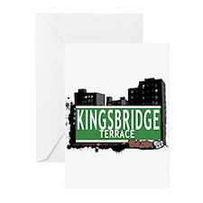 KINGSBRIDGE TER, Bronx, NYC Greeting Cards (Pk of