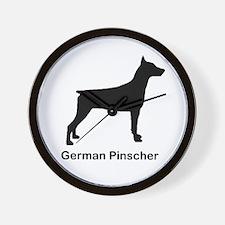 German Pinscher Wall Clock