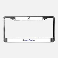 German Pinscher License Plate Frame
