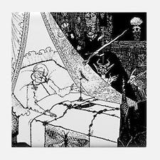 Death Bed Tile Coaster