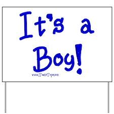 It's a Boy (Print) Yard Sign