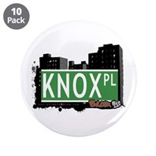 "Knox Pl, Bronx, NYC 3.5"" Button (10 pack)"