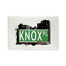Knox Pl, Bronx, NYC Rectangle Magnet