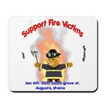 Fire Victims Support Mousepad