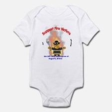 Fire Victims Support Infant Bodysuit