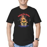 Fire Victims Support Men's Fitted T-Shirt (dark)