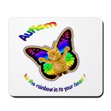 Autism let the rainbow in to Mousepad