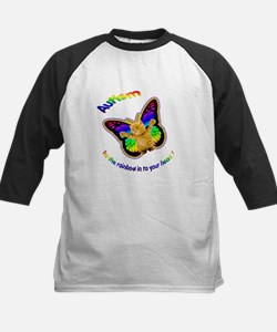 Autism let the rainbow in to Kids Baseball Jersey