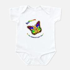 Autism let the rainbow in to Infant Bodysuit
