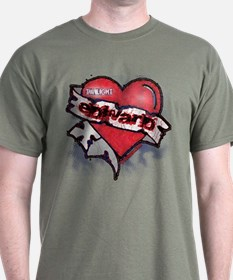 Edward Traditional Heart Tattoo T-Shirt