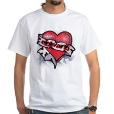 Edward Traditional Heart Tattoo Shirt
