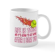 Girls Softball Small Mug