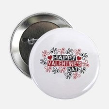 """Happy Valentine's Day 2.25"""" Button"""