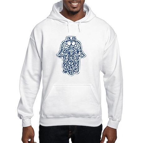 Hamsa (Hand of God) Hooded Sweatshirt