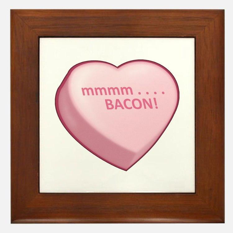 mmmm . . . . BACON! Framed Tile