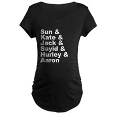 Oceanic Six Names T-Shirt
