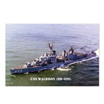 USS WALDRON Postcards (Package of 8)