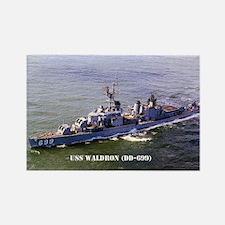 USS WALDRON Rectangle Magnet