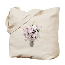 Lilies Large Tote Bag