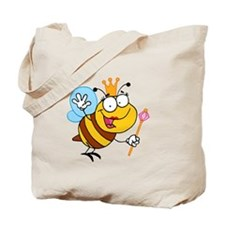 Cartoon Queen Bee Tote Bag