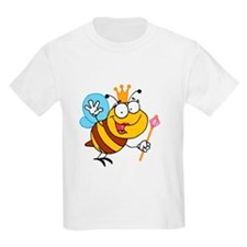 Cartoon Queen Bee T-Shirt