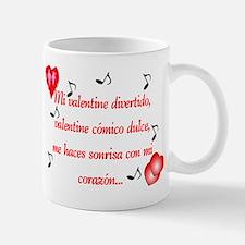 Dulce San Valentín Mug