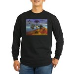 Fall Migration Long Sleeve Dark T-Shirt