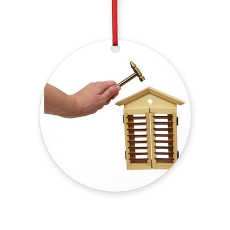 Home Repairs Light Ornament (Round)