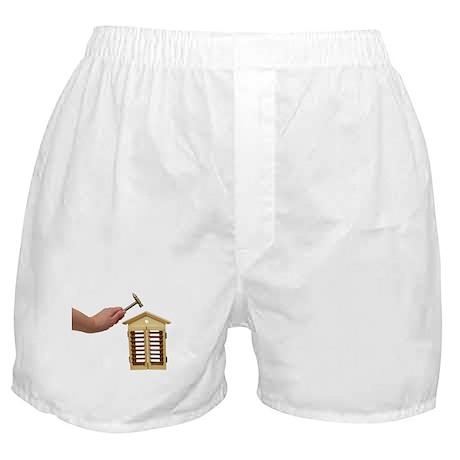 Home Repairs Light Boxer Shorts